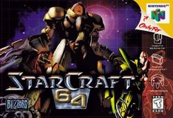 StarCraft 64 (USA) Box Scan